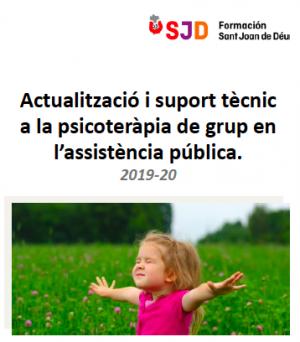 Actualització i suport tècnic a la psicoteràpia de grup en l'assistència pública. 2019-20