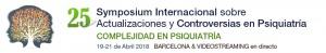25 Symposium Internacional sobre Actualizaciones y Controversias en Psiquiatría