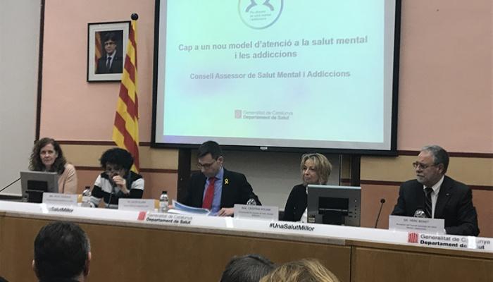Reunió del Consell Assessor de Salut Mental i Addiccions