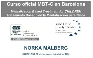 Curso oficial MBT-C Mentalization Based Treatment for CHILDREN - Tratamiento Basado en la Mentalización para Niños