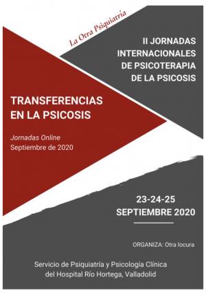 II Jornadas Internacionales de Psicoterapia de la Psicosis (online)